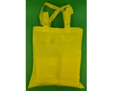 Сумка жёлтая (спанбонд) 37х41 см ручка 36 см (1 шт)