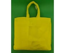 Сумка на молнии желтый (спанбонд) 38х53 см (1 шт)