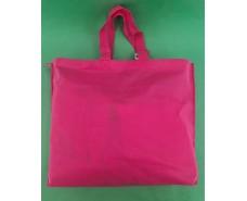 Сумка на молнии розовый (спанбонд) 38х53 см (1 шт)