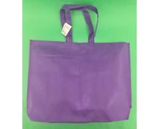 Сумка на молнии фиолетовый (спанбонд) 38х53 см (1 шт)