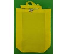 Сумка со складным боком желтая (спанбонд) 35х45 см (1 шт)