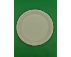 Тарелка бумажная 230мм белая (50 шт)