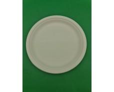 Тарелка бумажная 260мм белая (50 шт)
