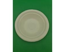 Тарелка бумажная  180мм белая (50 шт)