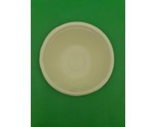 Тарелка бумажная  142мм белая (25 шт)