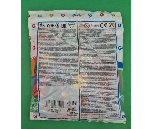 """Воздушные шары ассорти пастель 6"""" (15 см) 100 шт (1 пач)"""