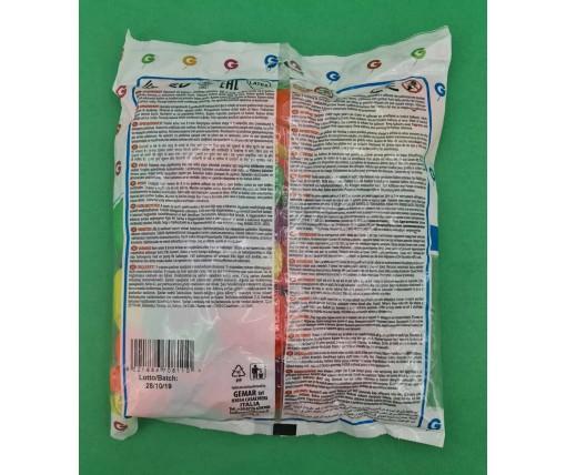 """Воздушные шарики ассорти неон 7"""" (19 см) 100 шт (1 пач)"""