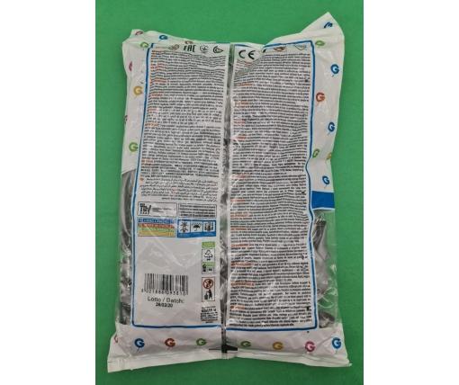 """Воздушные шары металлик  стальной 10"""" (25 см) Gemar 100 шт (1 пачка)"""