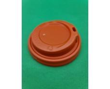 Крышка под стакан  бумажный  Ф90 (гар) оранжевая Маэстро (50 шт)