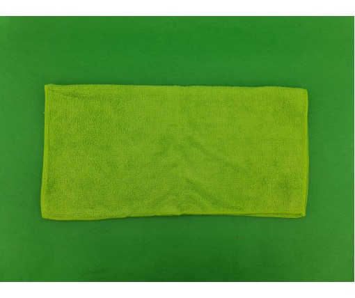 Cалфетка из Микрофибра 40*40 Зеленая FT0265  (1 шт)