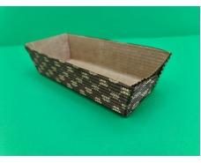 Плюмкейк (форма для выпечки прямоугольная гофрированная)(20шт)  165х65х45  (1 уп.)