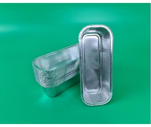 ᐉ Контейнер из пищевой алюминиевой фольги прямоугольный 575мл R42G 100шт в упаковки (1 пачка)