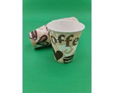 "Стакан для напитков 175мл ""COFFE СЕРДЦА"" Маэстро (50 шт)"