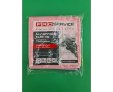 Салфетки  PRO микрофибра Professional (38*38) 4шт (1 пач)