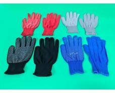 Хозяйственные перчатки Нейлоновые с микроточкой (12 пар)