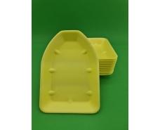 Упаковка из вспененного полистирола  (225*165*25) Т-5-25 ЖЕЛТЫЙ (200 шт)