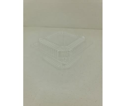 Контейнеры для десертов пластиковый с откидной крышкой V500мл ПС-8 110*105*58 50 штук в упаковке