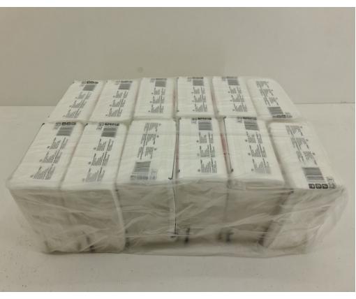 Cалфетки бумажные 40лист Премьер  2-ух слойные  Белая 30х30 (12 пачка)