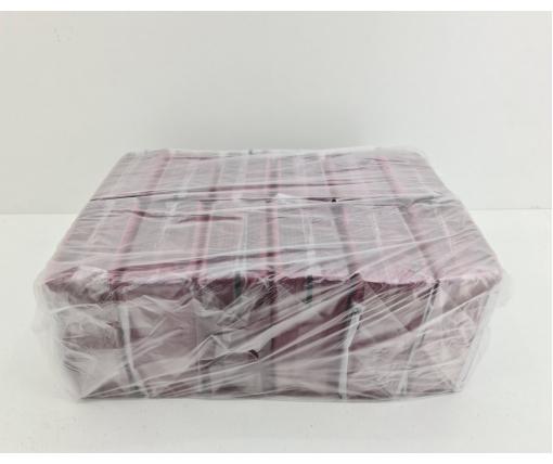 Cалфетки бумажные 40лист Премьер  2-ух слойные  Бордо 30х30 (12 пачка)