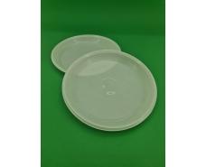 Тарелка одноразовая диаметр 205мм  белая Эконом PGU (100 шт)