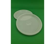 Тарелка одноразовая диаметр 205мм ПП белая PGU (100 шт)