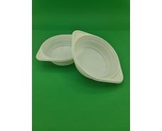 Тарелка одноразовая диаметр 500мм ПП Белая PGU (50 шт)