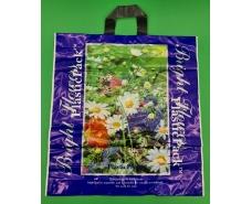 Пакет с петлевой ручкой (47*49) Полевые цветы Наксан (25 шт)