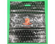 Пакет с прорезной ручкой 45*52 Пластик Пак (25 шт)
