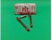 """Ручка шариковая 1.0 mm тм Tianzhijiaozi """"TY 501"""" красный (24 шт)"""