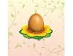 """Декоративная подставка для яиц №1 """"Подсолнух"""" (1 яйцо) (1 шт)"""