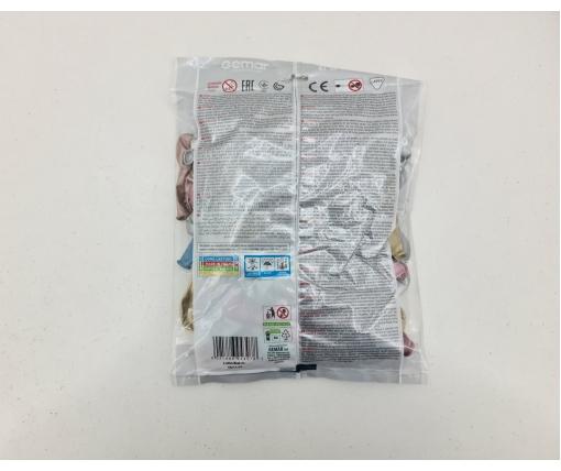 """Воздушные шарики хром ассорти  5"""" (13 см) 100 шт Gemar (1 пачка)"""