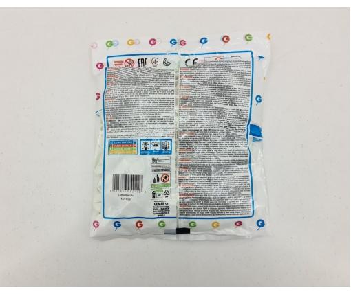"""Воздушные шарики пастель белый  5"""" (13 см) 100 шт Gemar (1 пачка)"""