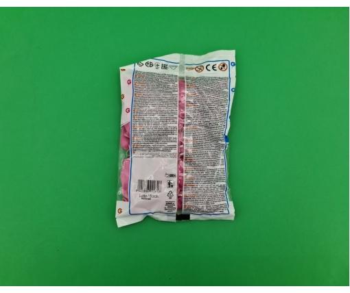 """Воздушные шарики пастель розовые 3"""" (8 см) латексные бомбочки 100 шт Gemar (1 пач)"""