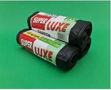 Пакеты для мусора 120литров (10шт) Люкссупер (1 рул)