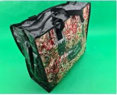 Сумка хозяйственная , полипропиленовая,  с цветным рисунком  №2 Узор (10 шт)