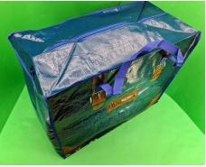 Сумка хозяйственная , полипропиленовая,  с цветным рисунком  №5 Джинс (10 шт)