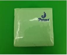 Салфетки бумажные 100лист Одесса Зеленая 33х33 (1 пач)