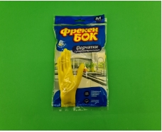 """Резиновые перчатки Универсальные для мытья посуды """"Фрекен Бок"""" (М) (1 пач)"""
