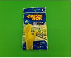 """Резиновые перчатки Универсальные для мытья посуды """"Фрекен Бок"""" (L) (1 пач)"""
