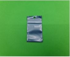 Пакет с замком zipp 4x6 синий (50шт) (1 пач)