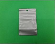 Пакет с замком zipp 6x8 серебристый (50шт) (1 пач)