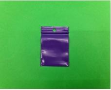 Пакет с замком zipp 3.5x4.5 фиолетовый (50шт) (1 пач)