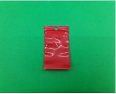 Пакет с замком zipp 4x6 красный (50шт) (1 пач)