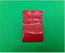 Пакет с замком zipp 5x7 красный (50шт) (1 пач)