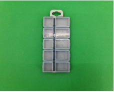 Коробка 10 ячеек с крышками 2310 (50 шт)