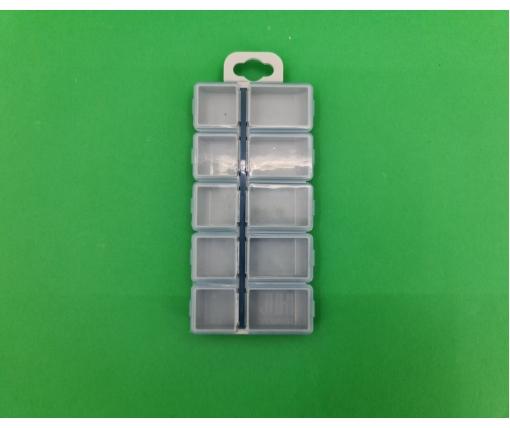 Бутылка пластиковая ПЭТ 0,5 л,  прозрачная с крышкой