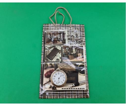 Бумажный пакет подарочный Средний 17/26/8 (артSV-138) (12 шт)