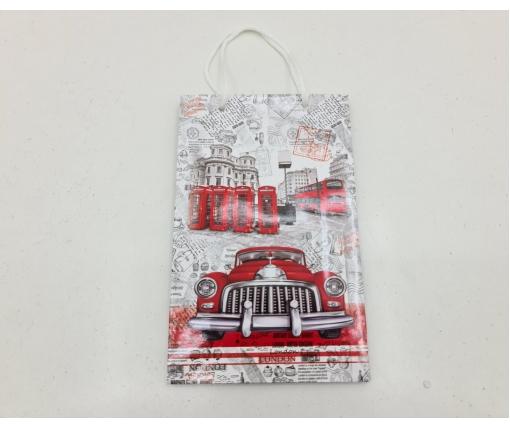 Бумажный пакет подарочный Средний 17/26/8 (артSV-186) (12 шт)