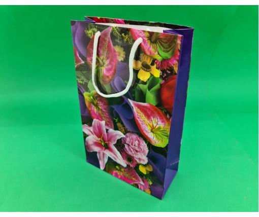 Бумажный пакет подарочный Средний 17/26/8 (артSV-167) (12 шт)
