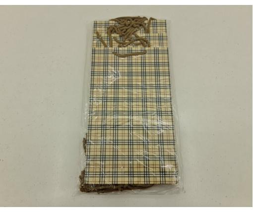 Бумажный пакет подарочный Средний 17/26/8 (артSV-019) (12 шт)